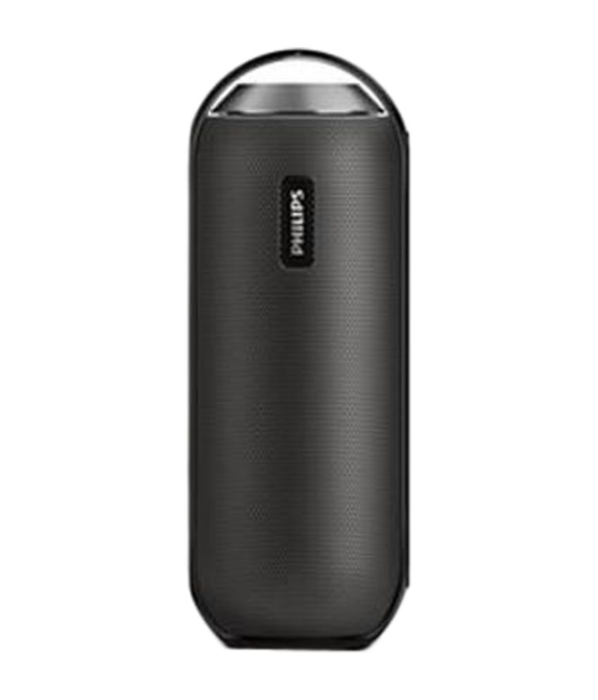 Philips Bt6000b/12 Portable Splash Proof Bluetooth Speaker - Black