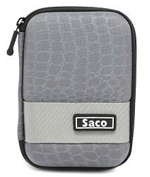 Saco External Hardisk Hard Cover For Seagate Expansion 500GB Portable External Hard Drive - Grey