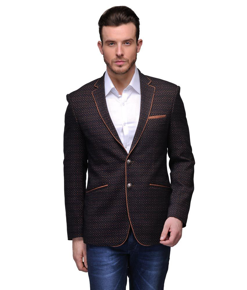 Canary London Brown Cotton Blazers