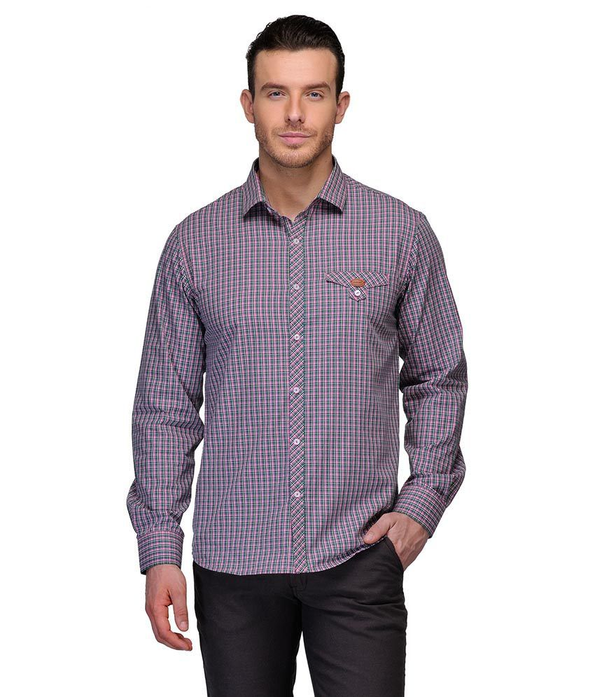 Canary London Pink Casual Shirt