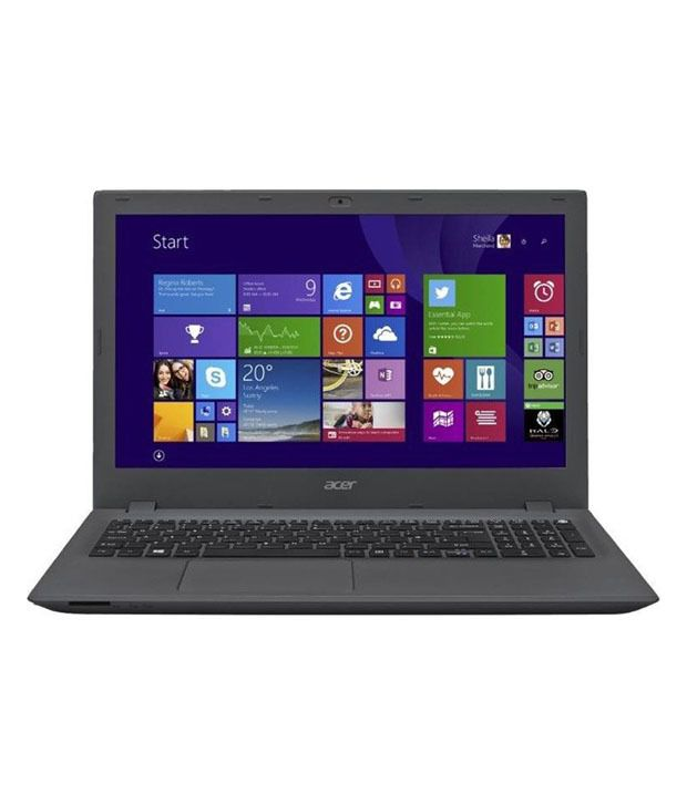 Acer E5-573 Notebook (NX.MVHSI.028) (4th Gen Intel Core i3- 4 GB RAM- 500 GB HDD- 39.62 cm (15.6)- Windows 8.1) (Grey)