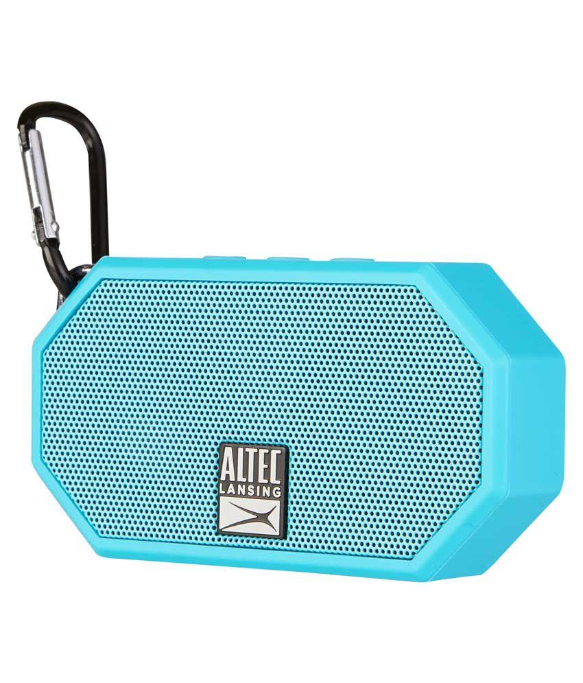 Altec Lansing Mini H2O Everything Proof Bluetooth Speaker (IMW257) - (Blue)