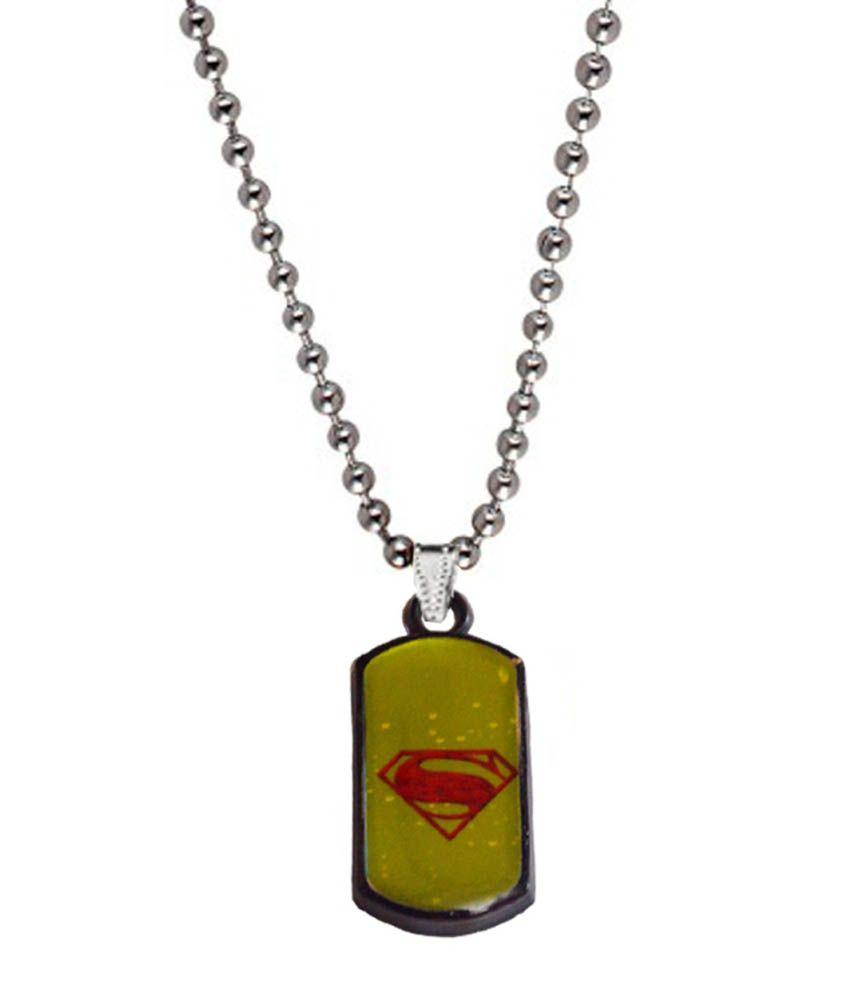 Men Style Silver Alloy Pendant