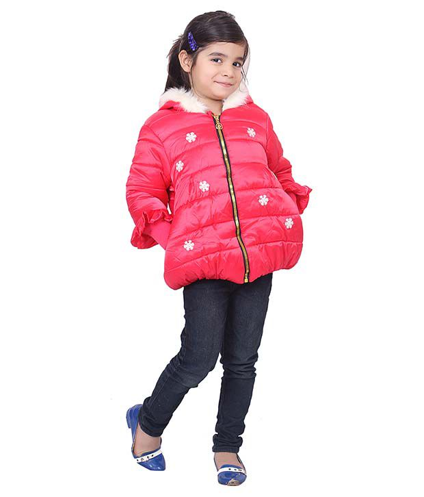 Sakhi Sang Red Full Sleeve Quilted Polyester Jackets