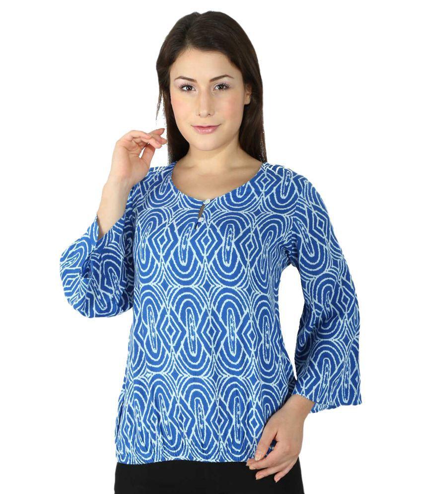 Tenn Blue Cotton Tunics