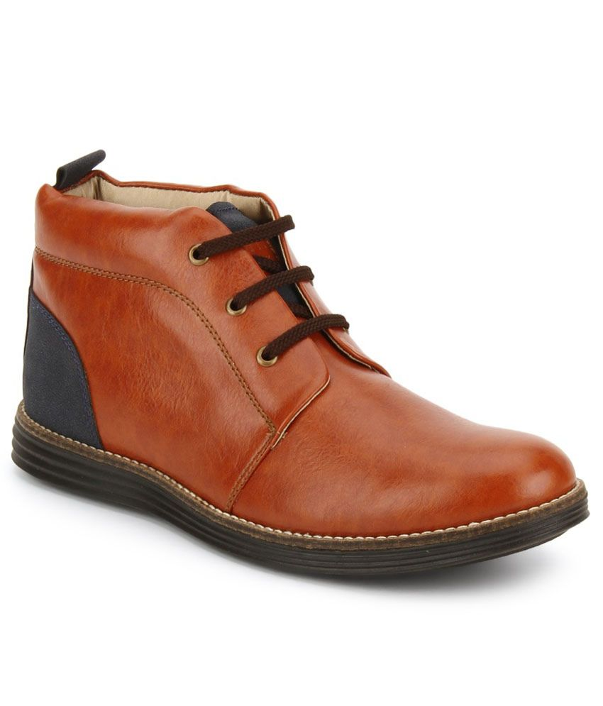 Knotty Derby Tan Boots