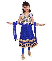Arshia Fashions Blue Salwar Suit