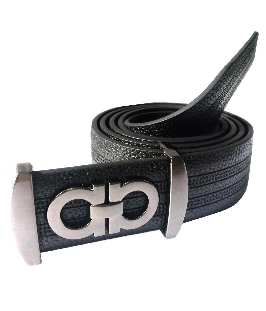 Mode Black Casual Single Belt For Men