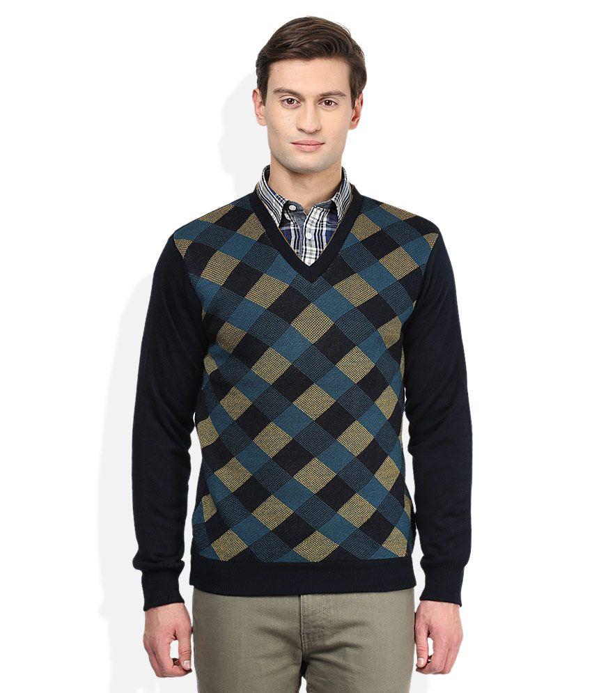 Vivaldi Multi Colour Reversible Sweater