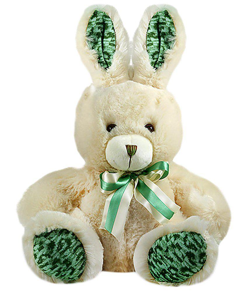 Archies Green & Beige Rabbit Soft Toy