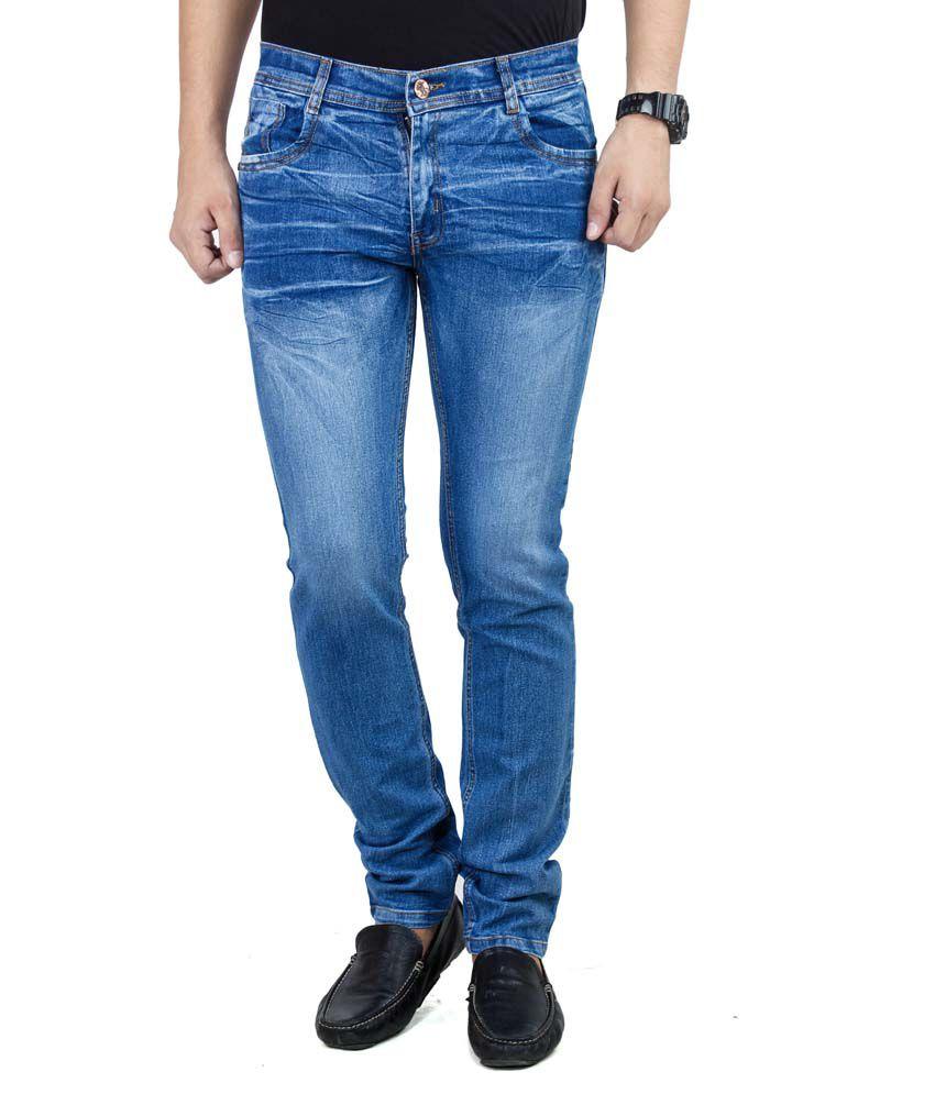 Stylox Blue Slim Fit Jeans