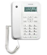 Motorola Ct202 Corded Landline Phone White Landline Phone