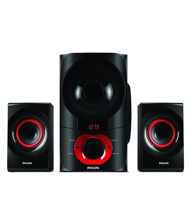 Buy Philips Mms6060f 2 1 Speaker System Online At Best
