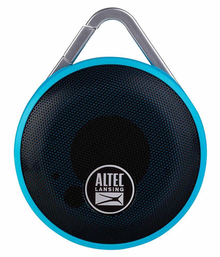 Altec Lansing IMW355 Orbit Bluetooth Speaker - Blue