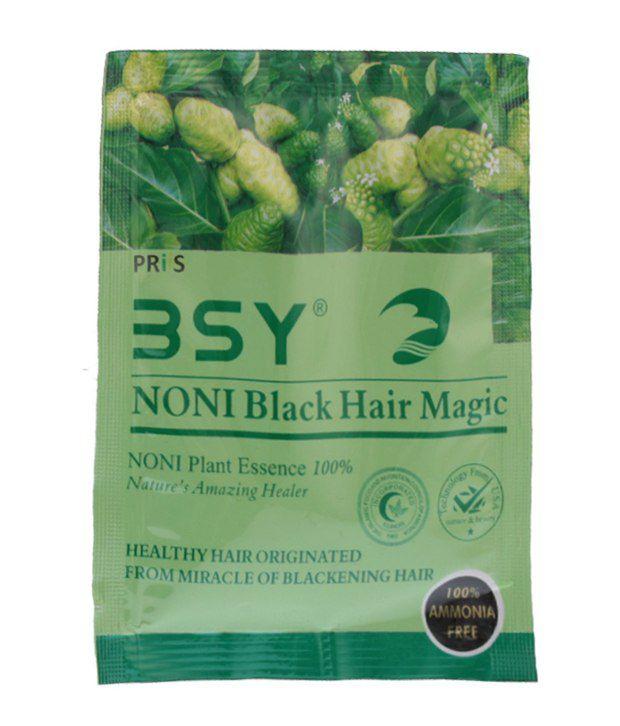 ... BSY Noni Black Hair Magic (12ml X 20 Sachets)