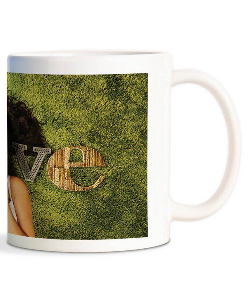 Funturoo Multicolour Ceramic 330 Mug