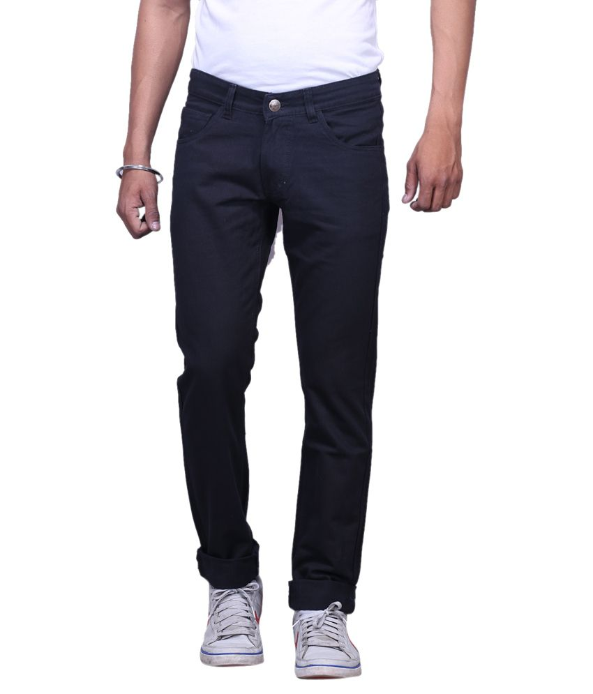 X-Cross Black Slim Fit Jeans