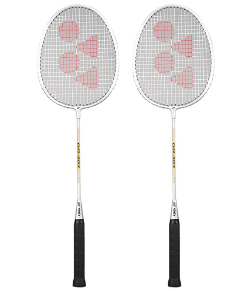 Yonex Gr-303 Badminton Racket Set Of 2: Buy Online at Best ...