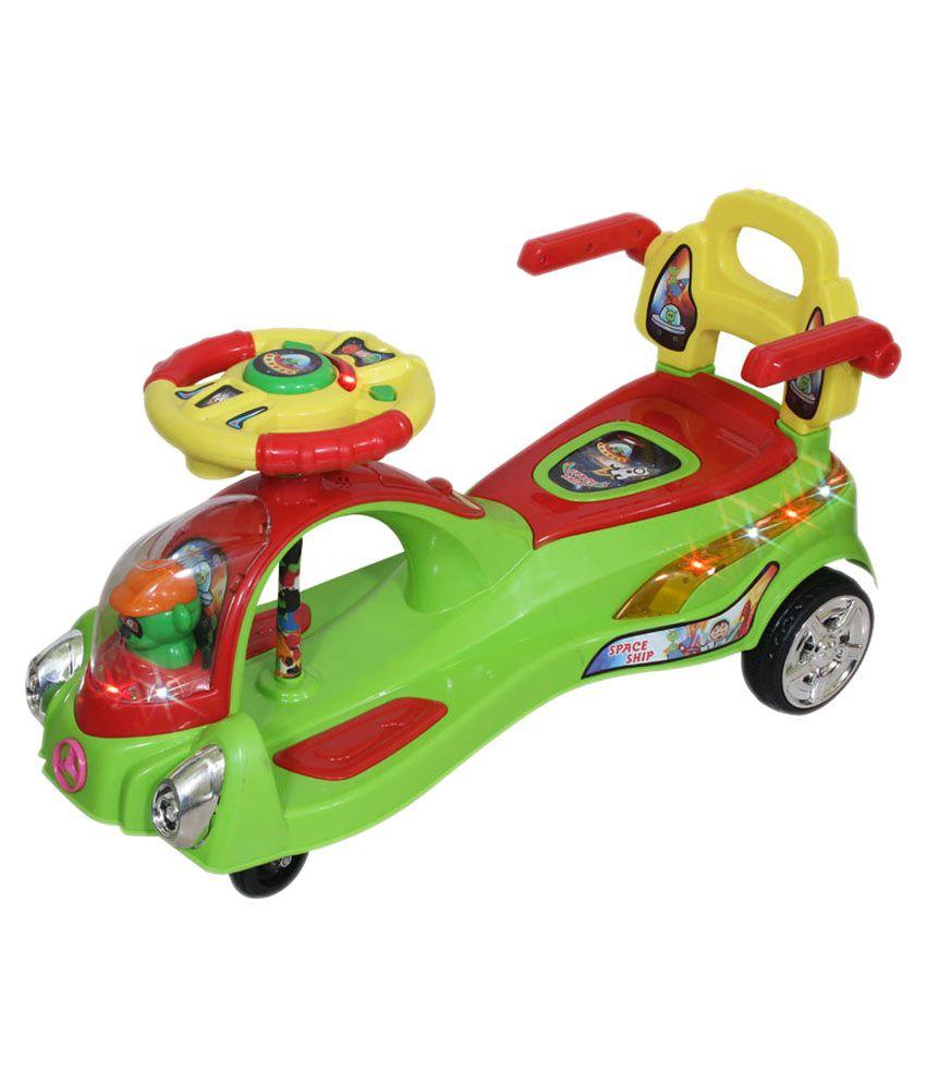 Yours Shop Plastic Magic Swing Car Green With Music  : Yours Shop Plastic Magic Swing SDL053173233 1 ad721 from compare.buyhatke.com size 850 x 995 jpeg 68kB