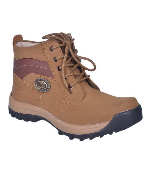 Leeport Khaki Lace Boots