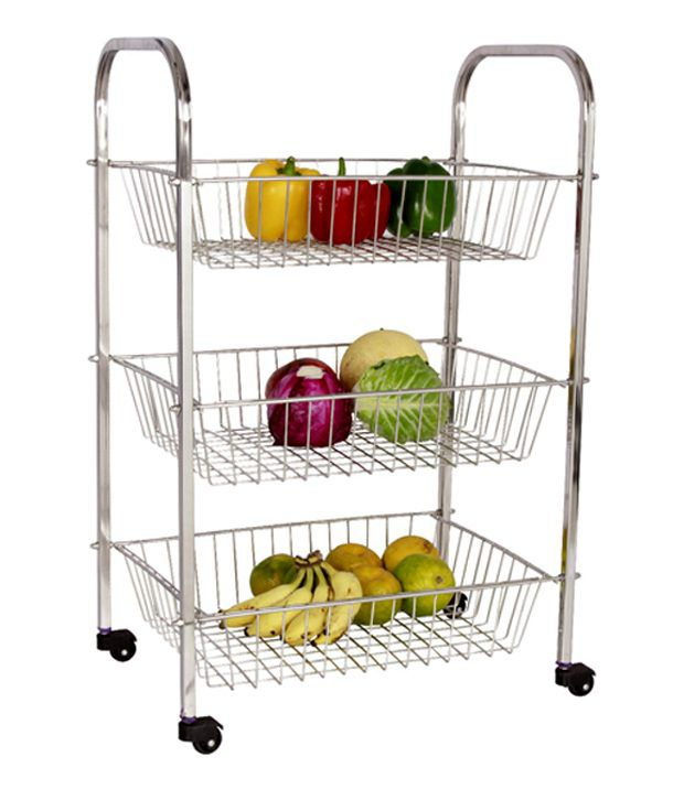 Buy amol stainless steel utensils rack online at low price for Snapdeal products home kitchen decorations