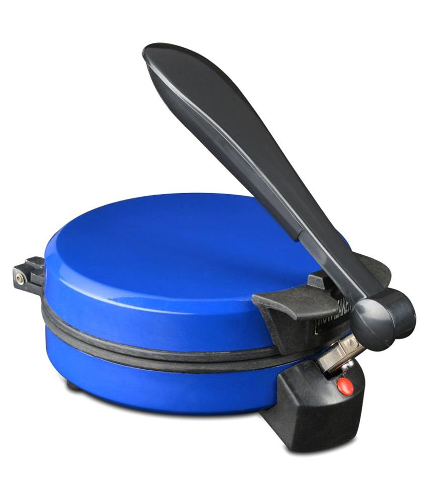 Zaisch Roti Maker Blue With Free Pizza Cutter