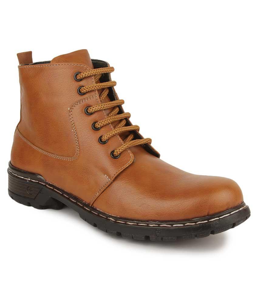 Vilax Beige Boots