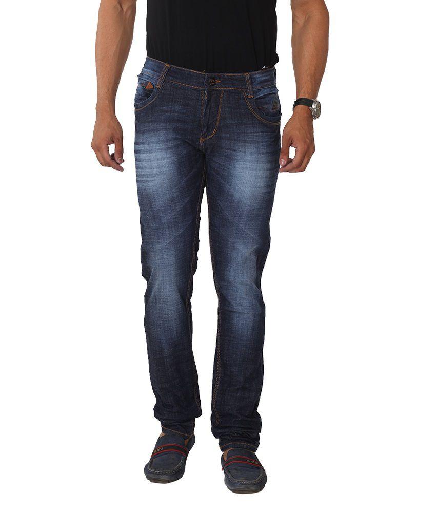 Hi-wok69 Blue Slim Fit Jeans