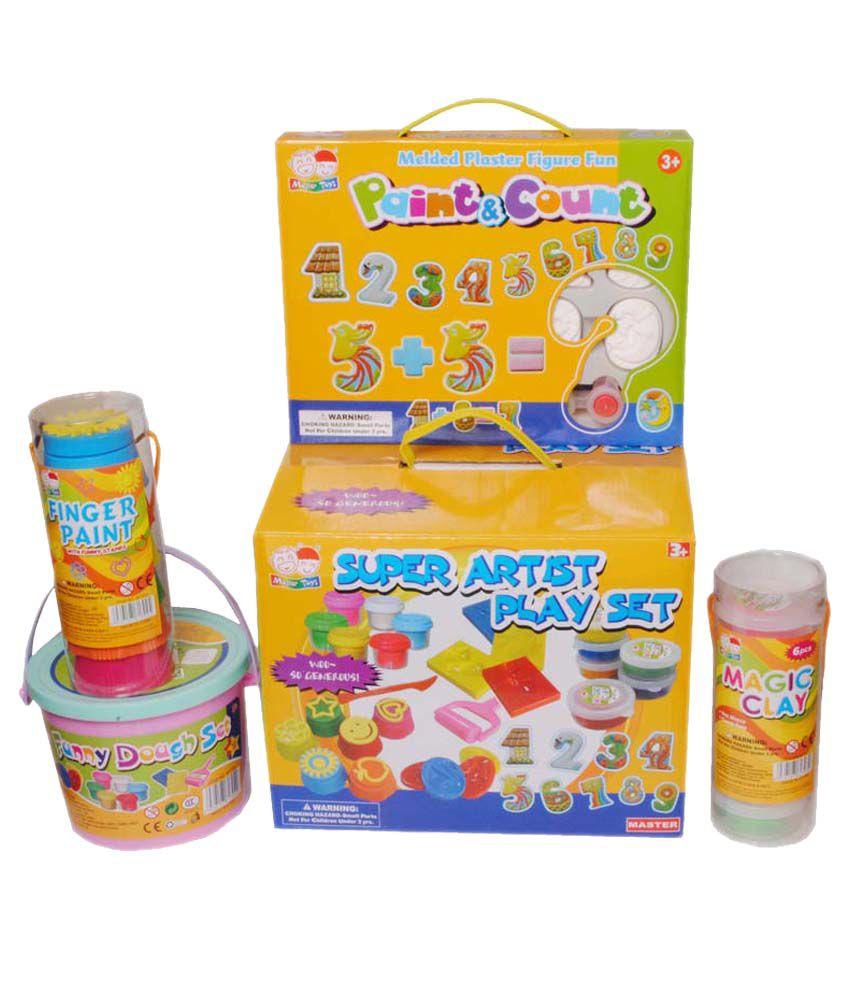 All India Handicrafts Wonderful Kids Super Artist Play Set Buy All