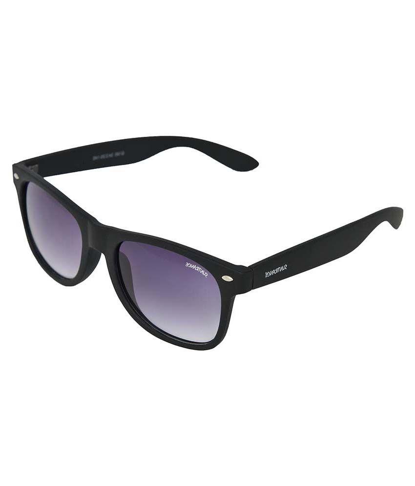 Suntrance Acw832 Black Square Sunglasses