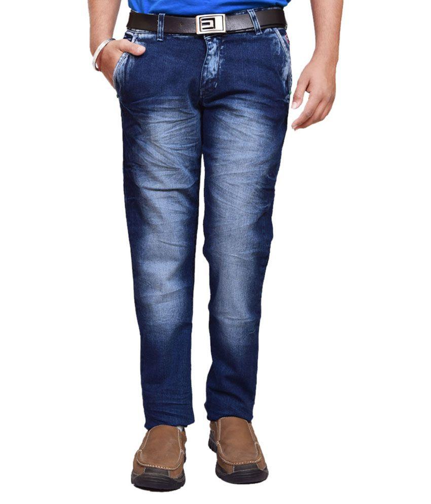 British Terminal Blue Slim Fit Jeans