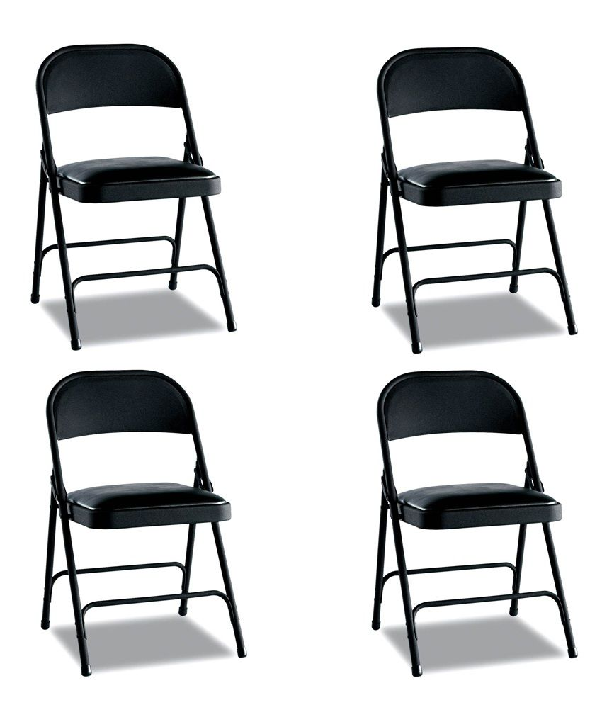 Snapdeal: Dublin Folding Chair (Set of 4) @ Rs.3,799/- (62% OFF)