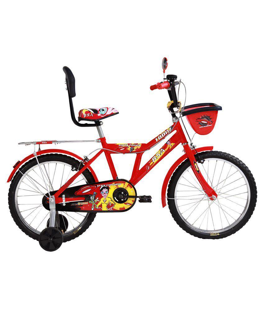 BSA Red Metal Bicycle