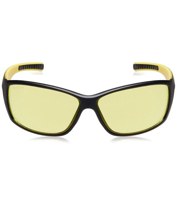 e5f5e2a12c Fastrack P293YL3 Yellow Sports Sunglasses Fastrack P293YL3 Yellow Sports  Sunglasses ...
