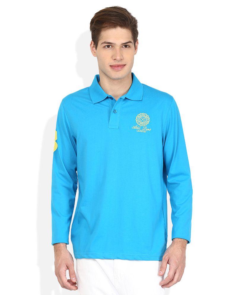 Proline Multicoloured Solid Polo T Shirt