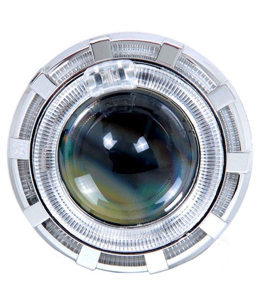 R j von Led Headlight Projector Lens For Bajaj Pulsar 150cc Dt Si
