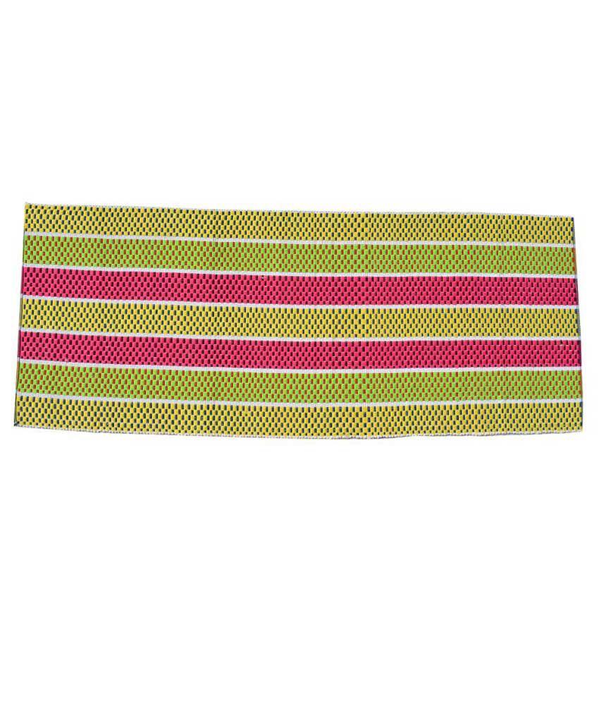 Younique Multicolour Ethnic Cotton Floor Mat