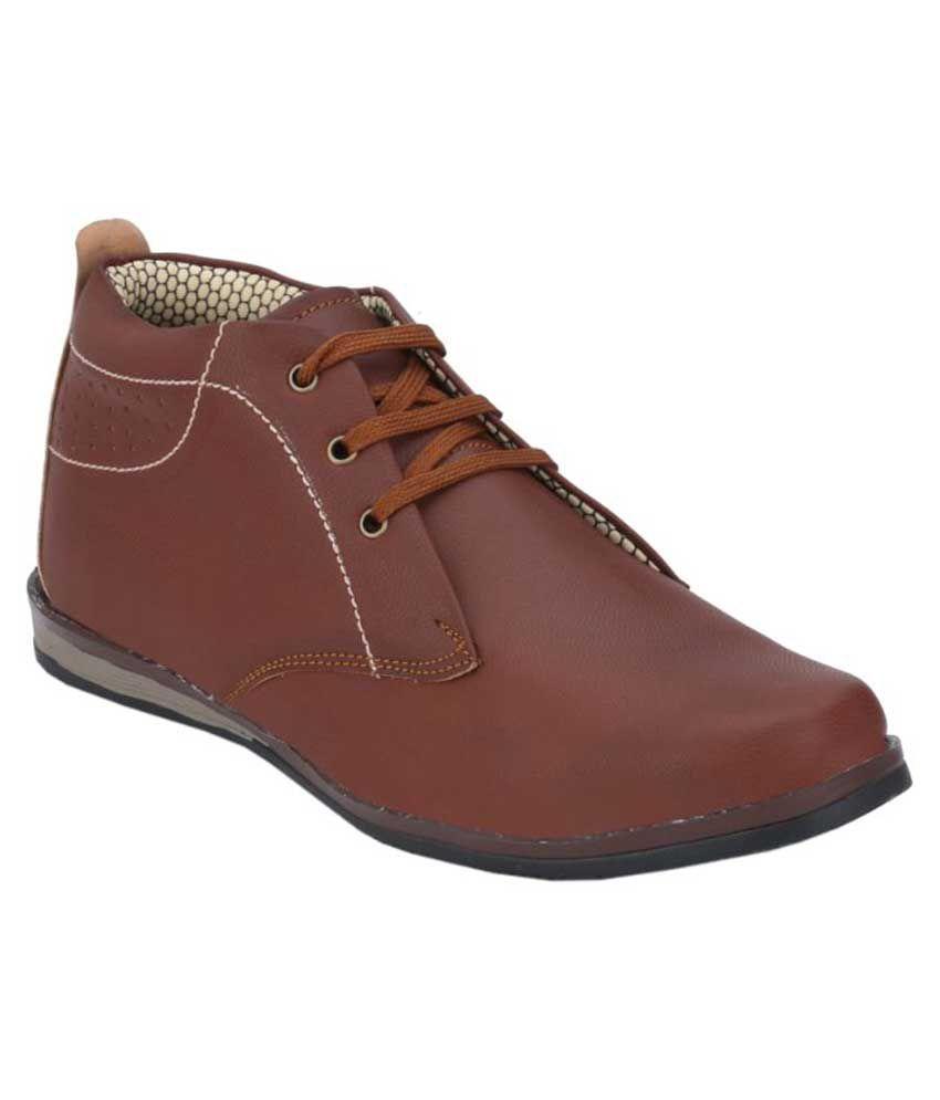 Menfolks Tan Boots