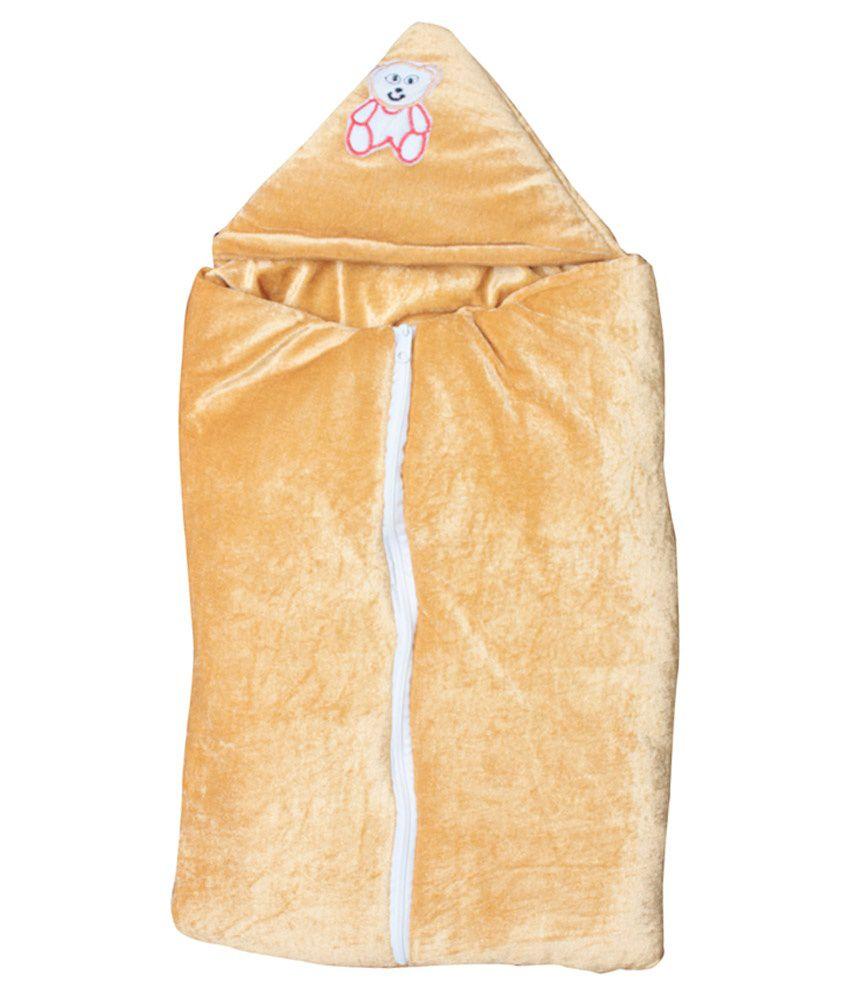 Stylestopper Beige Polyester Sleeping Bag For Boys And Girls