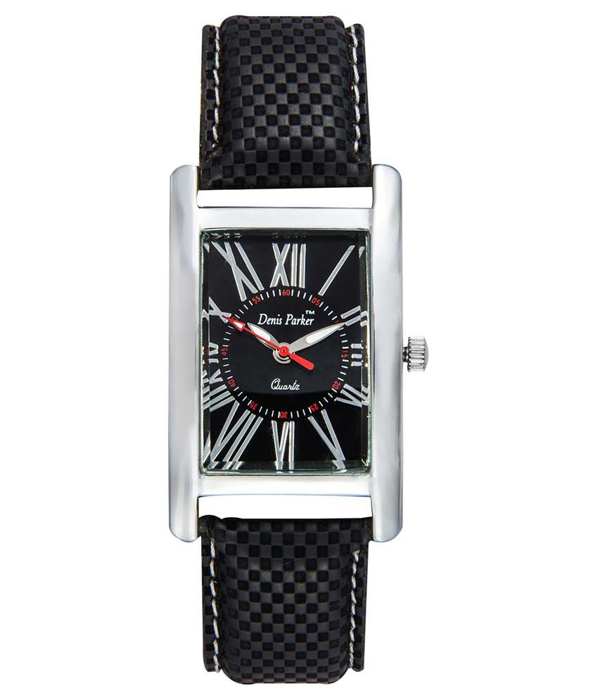 Fastrend Black Square Analog Formal Watch