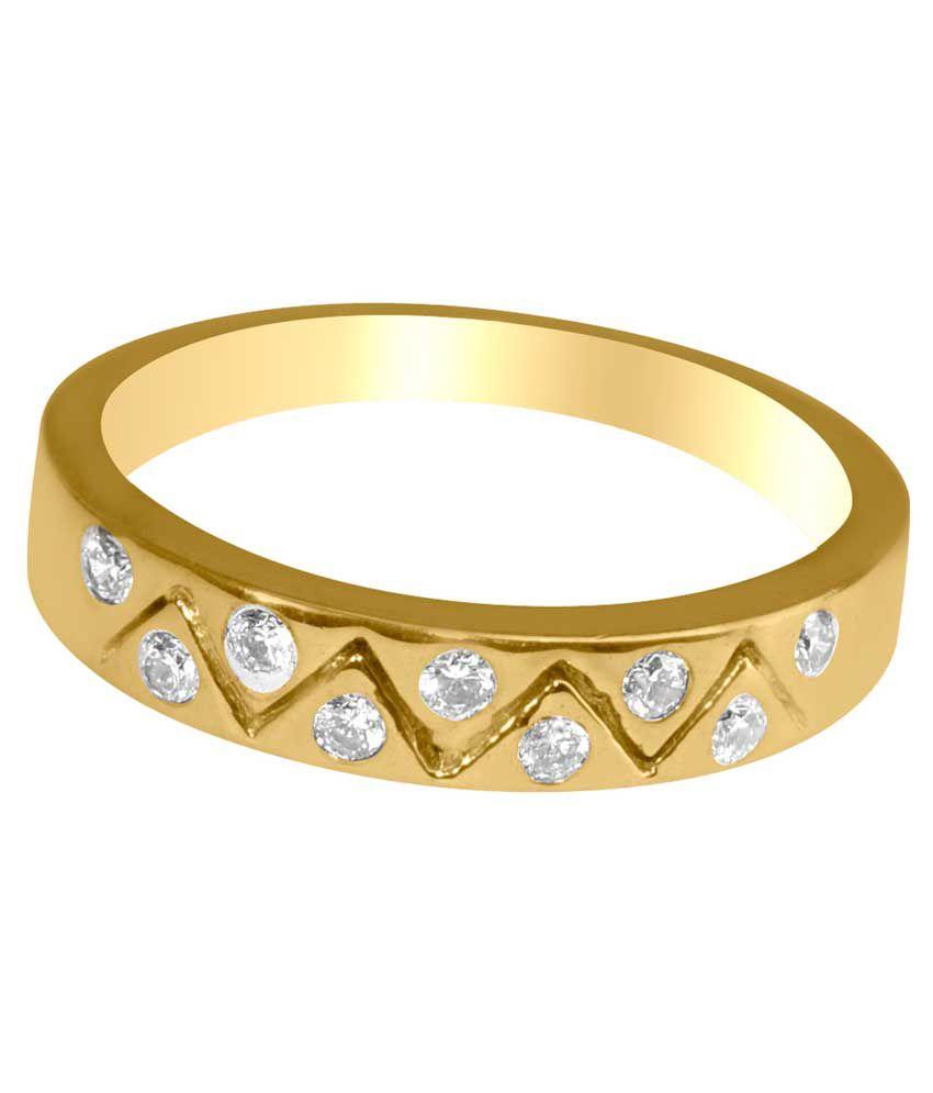 Gvj 18kt Gold Ring