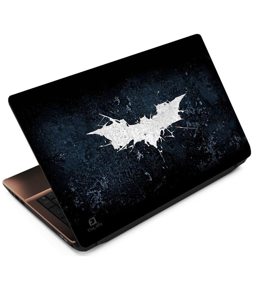 Indiashopers Batman Logo Skin Laptop Notebook Skins For 13
