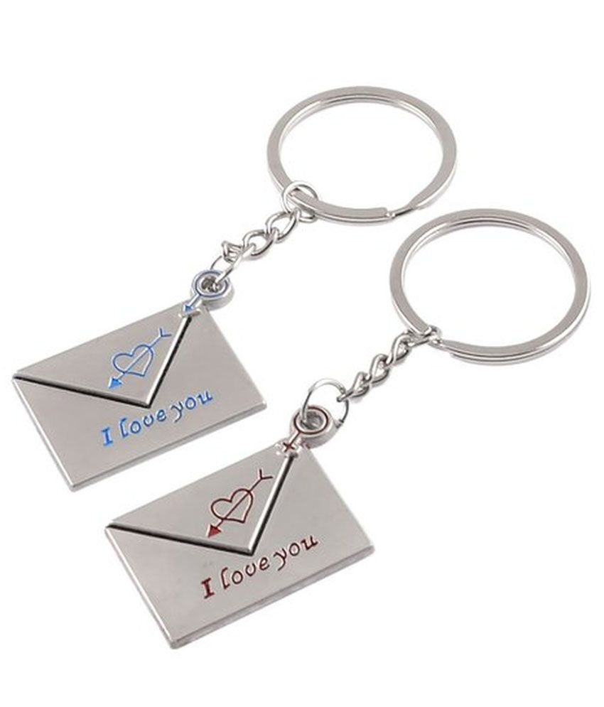 CTW Couple I Love You Metalic Message Box Couple Keychain  Buy Online at  Low Price in India - Snapdeal 0c129adec7ad