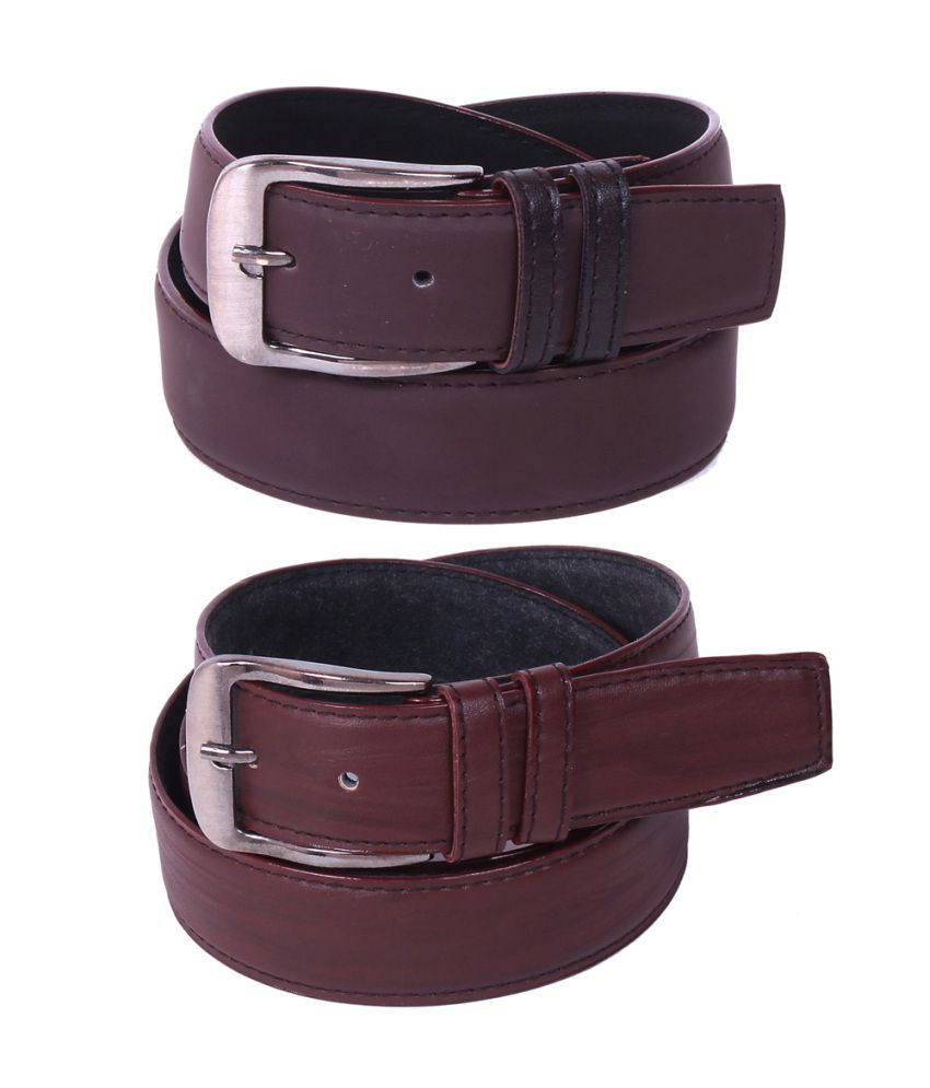 Calibro Combo of Brown Non Leather Belts
