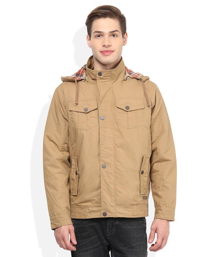 e0c949246 Monte Carlo Khaki Full Sleeves Winter Jacket
