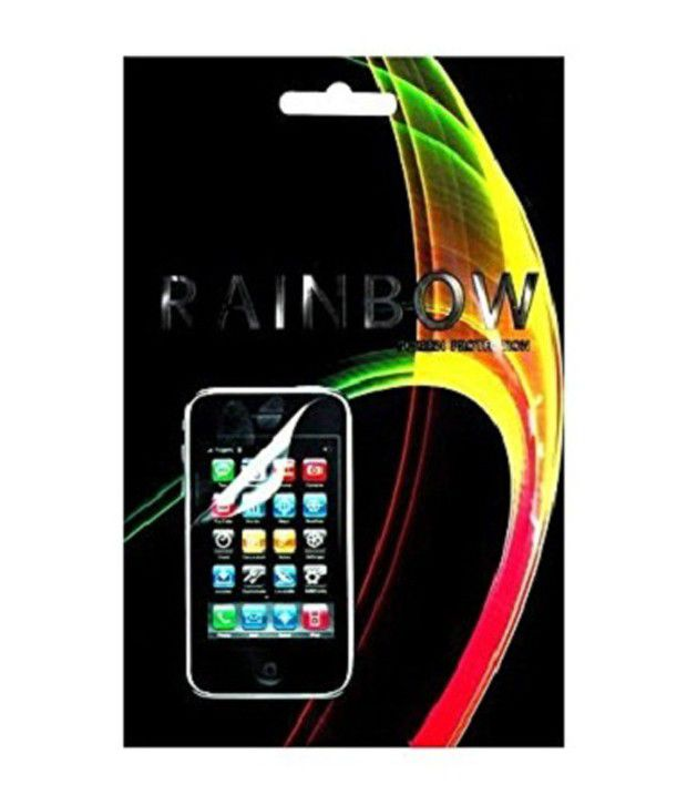 Rainbow Screen Guard For Karbonn A9+