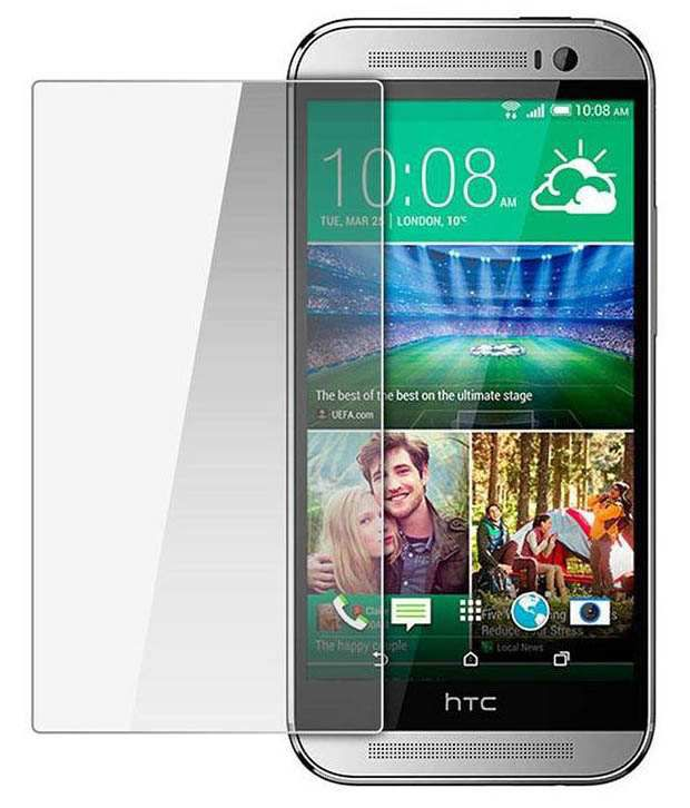 Dms Bro Tempered Glass Screen Protector For HTC One M8