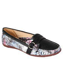 Hansx Black Loafers