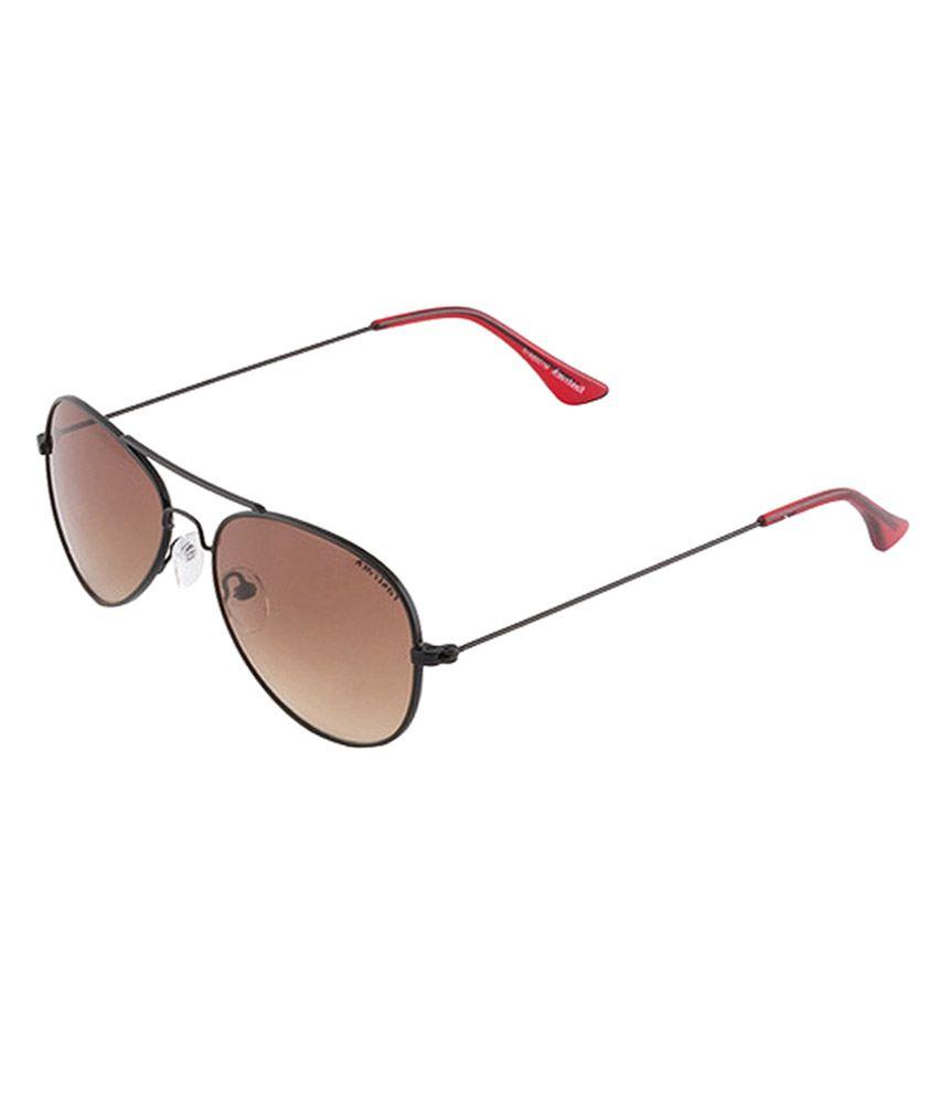 0c431775a2e9c Fastrack M139BR1F Brown Medium Unisex Aviator Sunglasses - Buy Fastrack  M139BR1F Brown Medium Unisex Aviator Sunglasses Online at Low Price -  Snapdeal