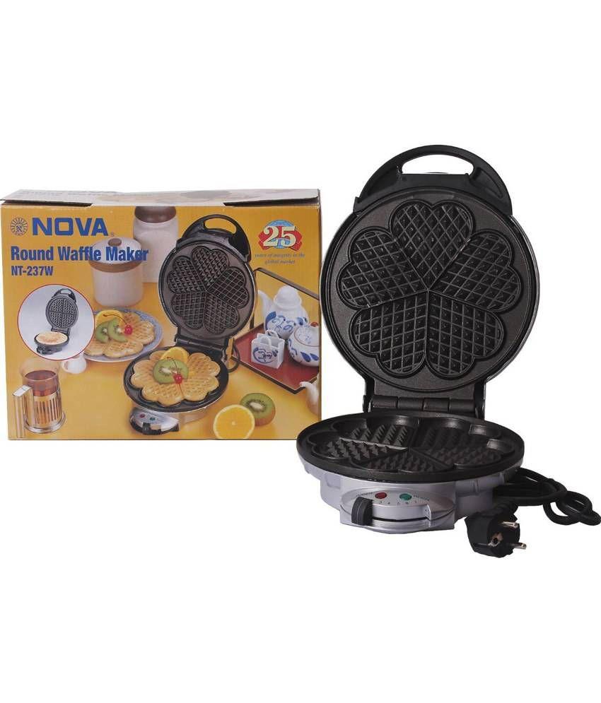 NOVA NT237W Heart Shape 5 Waffle Maker
